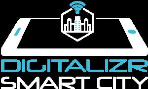 Vertical smart city logo